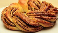 Çikolatalı Örgü Ekmek Tarifi – Hamur İşleri