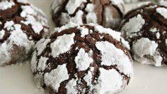 Çikolatalı Bademli Çatlak Kurabiye Tarifi – Kurabiye Tarifleri