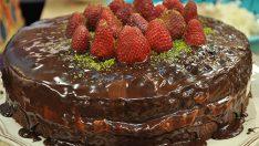 Çilekli Çikolatalı Pasta Tarifi – Pasta Tarifleri