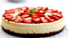 Çilekli Cheesecake Tarifi – Pasta Tarifleri