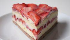 Çilekli Turta Tarifi – Pasta Tarifleri