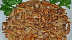 İstiridye Mantar Sote Tarifi – Ana Yemek Tarifleri