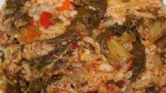 Bulgurlu Mancar Tarifi – Sebze Yemekleri