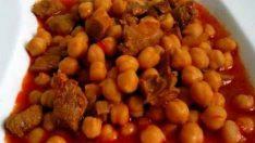Etli Nohut Tarifi – Etli Yemek Tarifleri