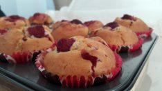 Frambuazlı Muffin Tarifi – Kek Tarifleri