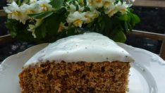 Haşhaş Kremalı Havuçlu Kek Tarifi – Kek Tarifleri