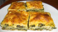 Ispanaklı Börek Tarifi 1 – Börek Tarifleri