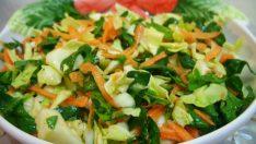 Ispanaklı Havuç Salatası Tarifi – Salata Tarifleri