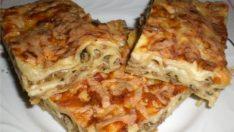 Kıymalı Makarna Böreği Tarifi – Börek Tarifleri