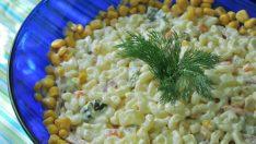 Makarna Salatası Tarifi 3 – Salata Tarifleri