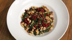 Narlı Ispanak Salatası Tarifi – Salata Tarifleri