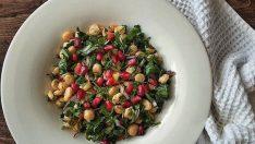 Narlı Nohut Salatası Tarifi – Salata Tarifleri