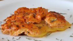 Salça ve Krema Soslu Tavuk Göğsü Tarifi -Tavuklu Tarifler
