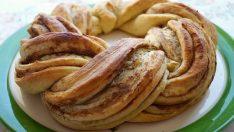 Susam Ezmeli Çelenk Çörek Tarifi – Kurabiye Tarifleri