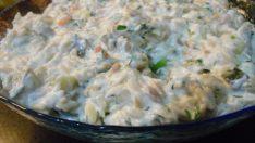 Tavuklu Yoğurtlu Tel Şehriye Salatası Tarifi – Salata Tarifleri