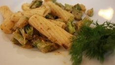 Yeşil Sebzeli Tortiglioni Tarifi – Hamur İşleri