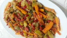 Zeytinyağlı Havuçlu Kabak Yemeği Tarifi – Zeytinyağlı Tarifler