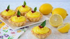 Limonlu Mini Tart Tarifi – Kek Tarifleri
