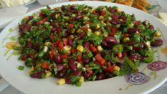 Meksika Fasülyeli Salata