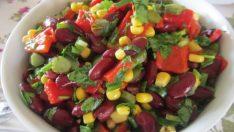 Meksika Fasulyeli Semizotu Salatası Tarifi – Salata Tarifleri