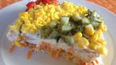 Yoğurtlu Etimek Salatası Tarifi – Salata Tarifleri