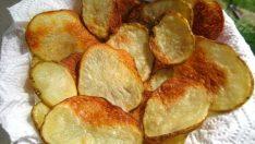 Fırında Patates Cipsi Tarifi – Aperatif Tarifler