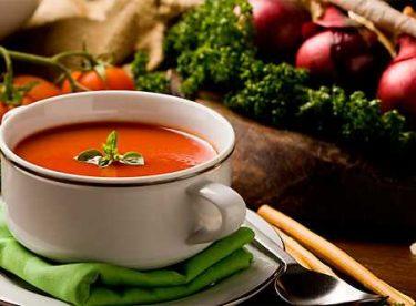 Közlenmiş Patlıcanlı Domates Çorbası Tarifi – Çorba Tarifleri