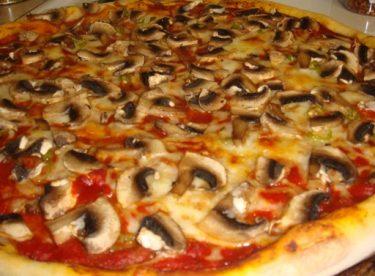 Mantarlı Pizza Tarifi – Pizza Tarifleri