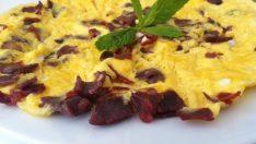Pastırmalı Omlet Tarifi – Kahvaltılık Tarifler