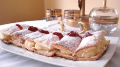 Kremalı Milföy Pastası Tarifi – Pasta Tarifleri