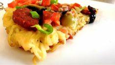 Makarna Pizza Tarifi – Pizza Tarifleri