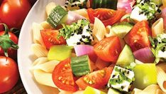Makarnalı Çoban Salata Tarifi – Salata Tarifleri