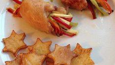 Sebzeli Tavuk Sarma Tarifi – Tavuklu Tarifler