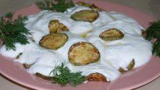 Yoğurtlu Kabak Kızartması Tarifi – Sebze Yemekleri