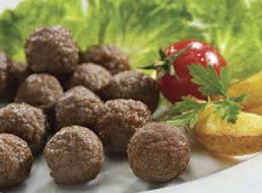 Fırında Sebzeli Misket Köfte+Pilav Tarifi – Bugün Ne Pişirsem