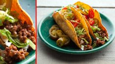 Kıymalı Taco Tarifi – Ana Yemek Tarifleri