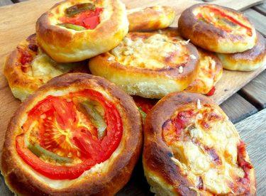 Poğaça Pizza Tarifi – Pizza Tarifleri