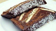 Bisküvili Pudingli Yaş Pasta Tarifi – Pasta Tarifi