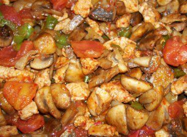 Fırında Mantarlı Tavuk Tarifi – Tavuklu Tarifler