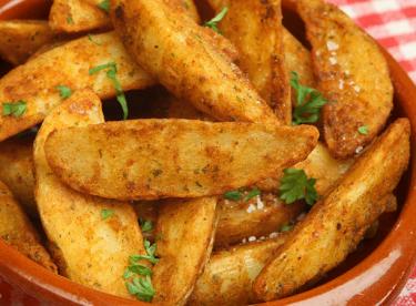 Fırında Sarımsaklı Patates Tarifi
