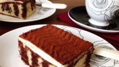 Kakao Soslu Şişleme Kek Tarifi