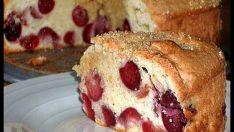 Kirazlı Kek Tarifi – Kek Tarifleri