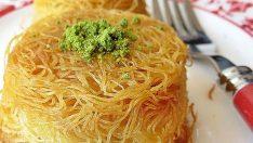 Muffin Kabında Tel Kadayıf Tarifi
