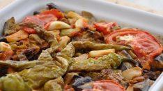 Fırında Biberli Patlıcan Tarifi