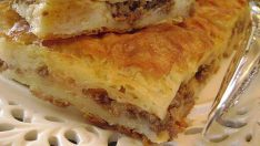 Kıymalı Patatesli Tava Böreği Tarifi