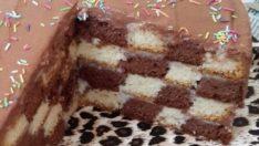 Nefis Damalı Pasta Tarifi