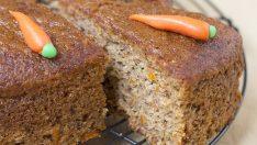 Enfes Tadıyla Havuçlu Cevizli Tarçınlı Kek
