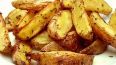 Fırında Kabuklu Bebek Patates Tarifi