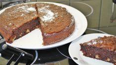 Islak Kek Tadında Kakaolu Elmalı Kek Tarifi