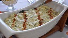 Salatalıklı Kolay Patates Püresi Tarifi